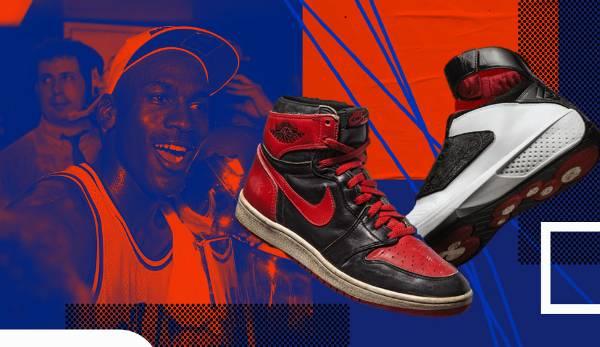 Diashow: NBA - Die Geschichte der Air Jordans: Der GOAT und seine Sneaker