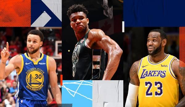 Diashow: NBA - Ranking: Die 25 besten Spieler der Saison 2019/20 nach Sports Illustrated
