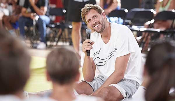 Dirk Nowitzki vor NBA-Start: Klar wird es komisch sein