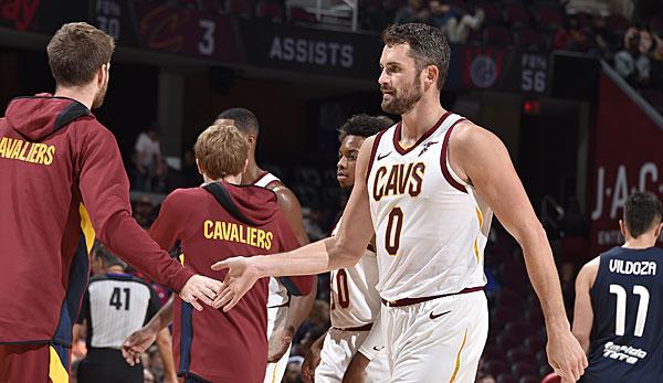 NBA-News: Kevin Love möchte trotz Rebuild bei den Cleveland Cavaliers bleiben