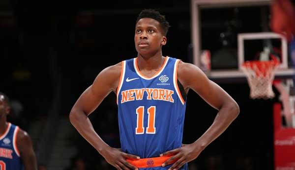 NBA - Frank Ntilikina bei den New York Knicks: Die letzte Chance für Frankie Smokes
