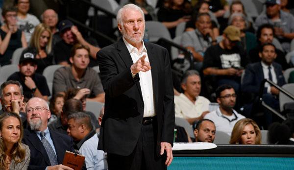 NBA News: Gregg Popovich reagiert auf Kritik von US-Präsident Donald Trump