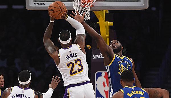 NBA Preseason: Los Angeles Lakers um LeBron James und Anthony Davis schießen Golden State Warriors aus der Halle