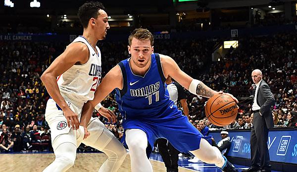 NBA Preseason: Luka Doncic und Kristaps Porzingis führen Dallas Mavericks zum Sieg gegen Clippers