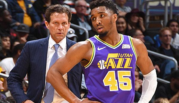 NBA-News: Utah Jazz verlängern wohl vorzeitig mit Head Coach Quin Snyder