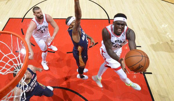 NBA Spielbericht: Toronto Raptors gewinnen Saisonauftakt gegen New Orleans Pelicans