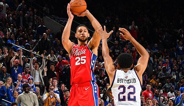 NBA-News - Ben Simmons über seinen Dreier: Bin kein großartiger Shooter