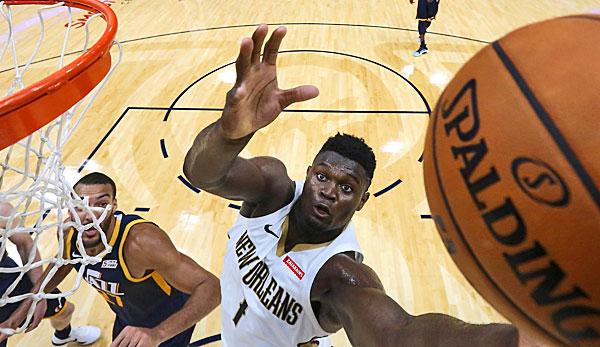 NBA-News: Nr.1-Pick Zion Williamson verpasst wohl Start der Regular Season