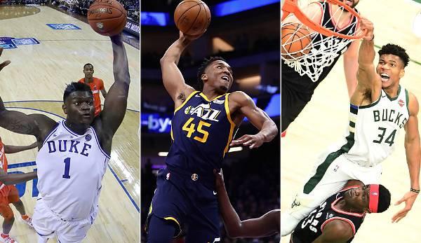 Diashow: NBA: Die besten 20 Dunker gemäß NBA2K20