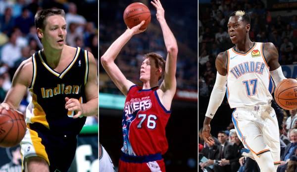 Diashow: Karriere-Verdienst: So viel verdienten die deutschen NBA-Spieler wie Dirk, Dennis und Maxi