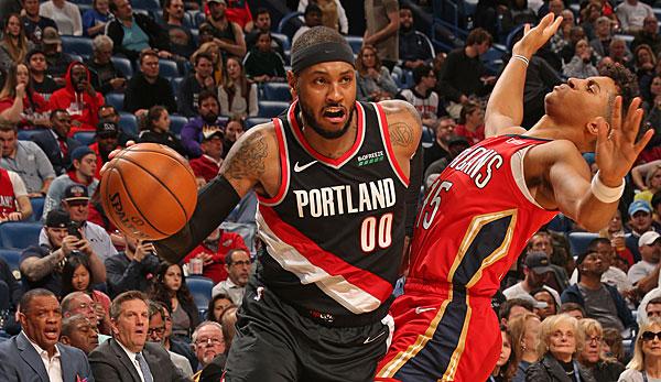 NBA-News - Carmelo Anthony bei den Trail Blazers: Personal Coach lobt Melos Anpassung an die moderne NBA