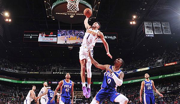 NBA: Devin Booker fügt Philadelphia erste Pleite zu! Brandon Ingrams Career High reicht nicht in Brooklyn