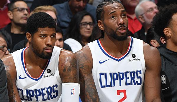 NBA: Paul George wollte 2017 zu den San Antonio Spurs getradet werden, um mit Kawhi Leonard zu spielen