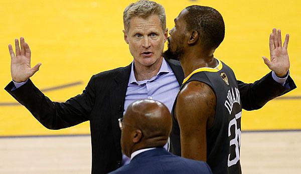 NBA: Steve Kerr spricht über die Gründe für den Abgang von Kevin Durant von den Golden State Warriors