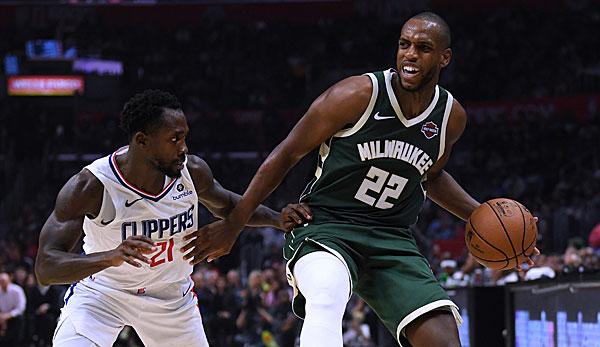 NBA-News: Milwaukee Bucks müssen mehrere Wochen auf Khris Middleton verzichten