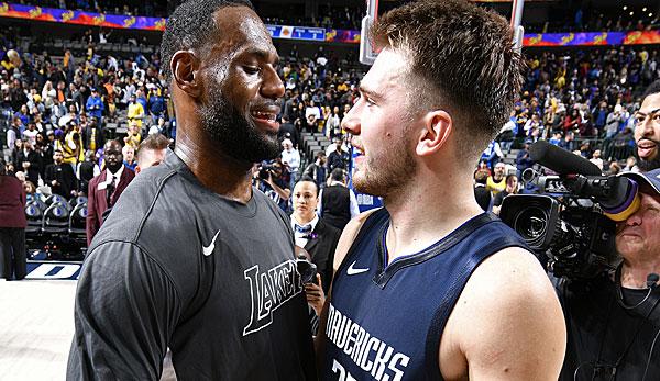 NBA: Luka Doncic von den Dallas Mavericks und sein historischer Start: Besser als der junge LeBron James