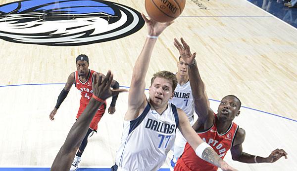 NBA: Dallas Mavericks schlagen Raptors - Luka Doncic verhindert spätes Comeback des Champions