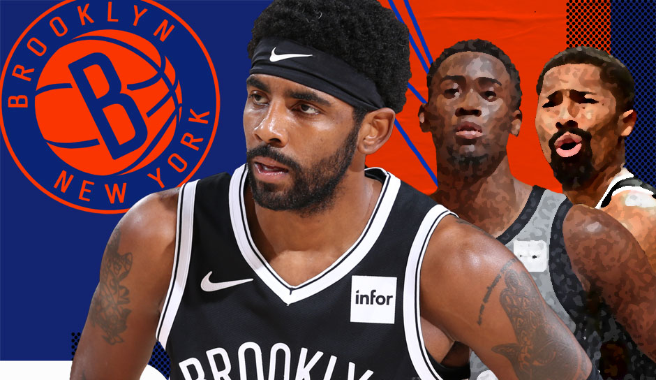 NBA: Der holprige Saisonstart der Brooklyn Nets: Kyrie Irving (noch) allein zu Haus