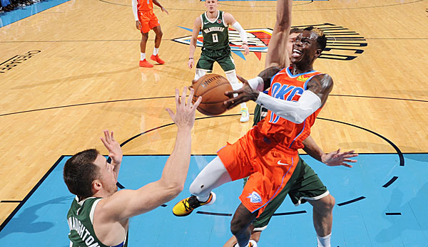 NBA: Starker Dennis Schröder reicht OKC Thunder nicht gegen die Bucks - Suns schießen Nets aus der Halle