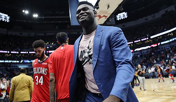 NBA-News: Zion Williamson macht Fortschritte - Comeback für die New Orleans Pelicans Mitte Dezember?