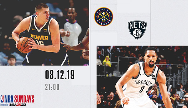 Die Denver Nuggets gastieren bei den Brooklyn Nets.