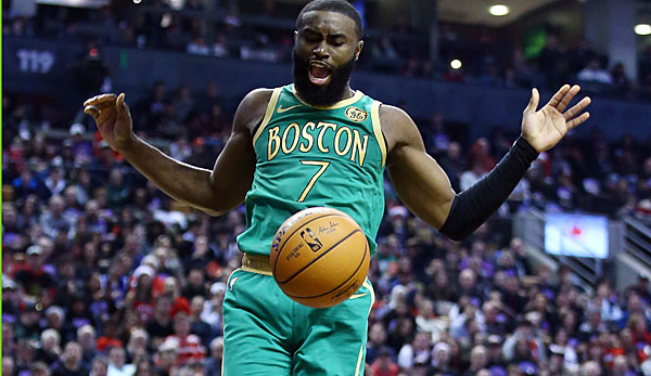 Jaylen Brown war der beste Spieler der Boston Celtics in Toronto.