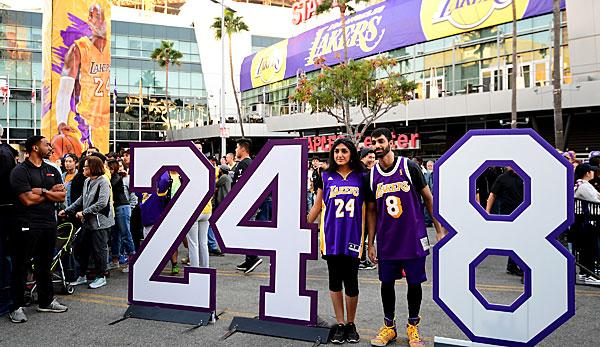NBA-News - Nach Tod von Kobe Bryant: Spieler wechseln Trikotnummer