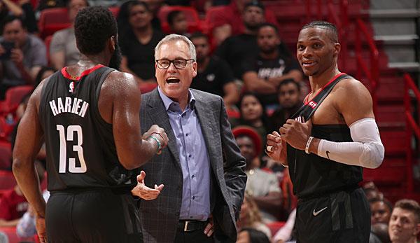 """NBA - Houston Rockets in der Mini-Krise: """"Im Moment macht es keinen Spaß"""""""