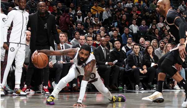 NBA: Kyrie Irving zaubert bei Nets-Comeback - Spurs gelingt Aufholjagd in Toronto - Nuggets schlagen Clippers