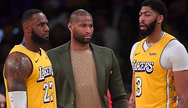 NBA-News: Los Angeles Lakers entlassen wohl DeMarcus Cousins - und haben Markieff Morris im Visier