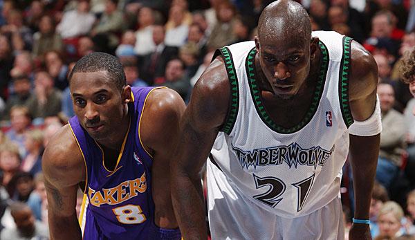 NBA - Kevin Garnett wollte 2007 zu den Los Angeles Lakers mit Kobe Bryant
