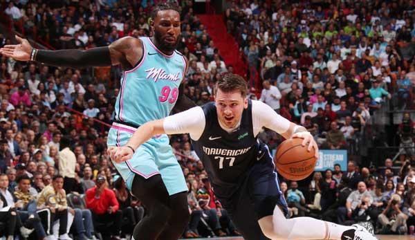NBA: Mavs verlieren trotz Career-High von Seth Curry gegen Miami Heat - Doncic mit durchwachsener Leistung