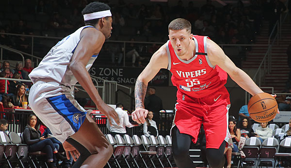 NBA G-League: Isaiah Hartenstein dominiert bei Sieg der Rio Grande Valley Vipers