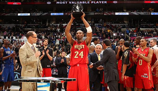 NBA-Preis für besten All-Star nach Kobe Bryant benannt