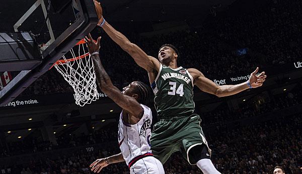 NBA: Milwaukee Bucks gewinnen hochklassige Defensiv-Schlacht in Toronto - OKC zittert sich in Chicago zum Sieg