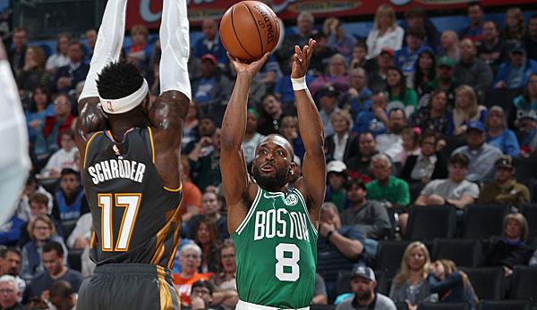 NBA: Jayson Tatum und Kemba Walker erlegen die Oklahoma City Thunder - Boston Celtics gewinnen Krimi in OKC