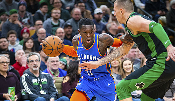 NBA live: Oklahoma City Thunder vs. Boston Celtics heute im Livestream auf SPOX und DAZN