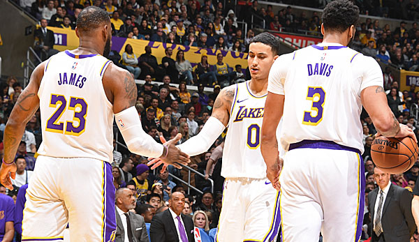 Im Team der Los Angeles Lakers gab es zwei positive Corona-Tests.