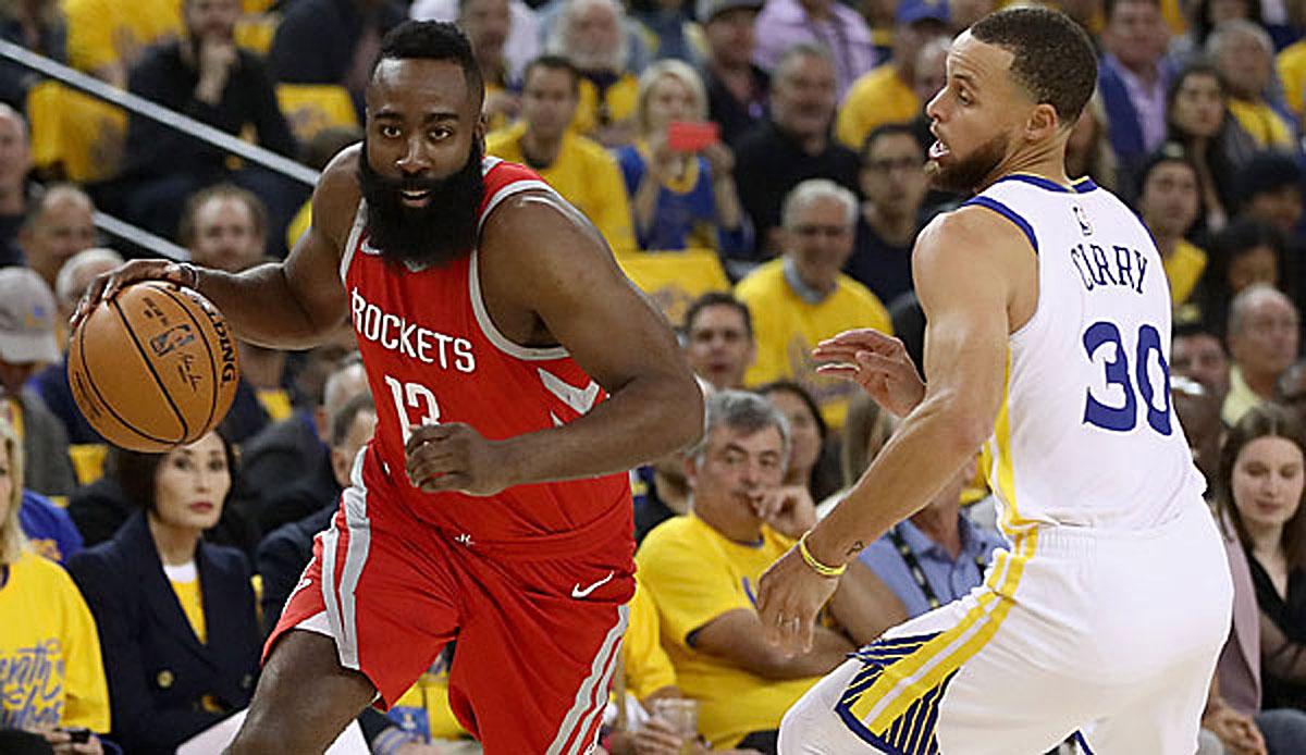 NBA-News - Kendrick Perkins behauptet, James Harden ist besser als Warriors-Star Stephen Curry
