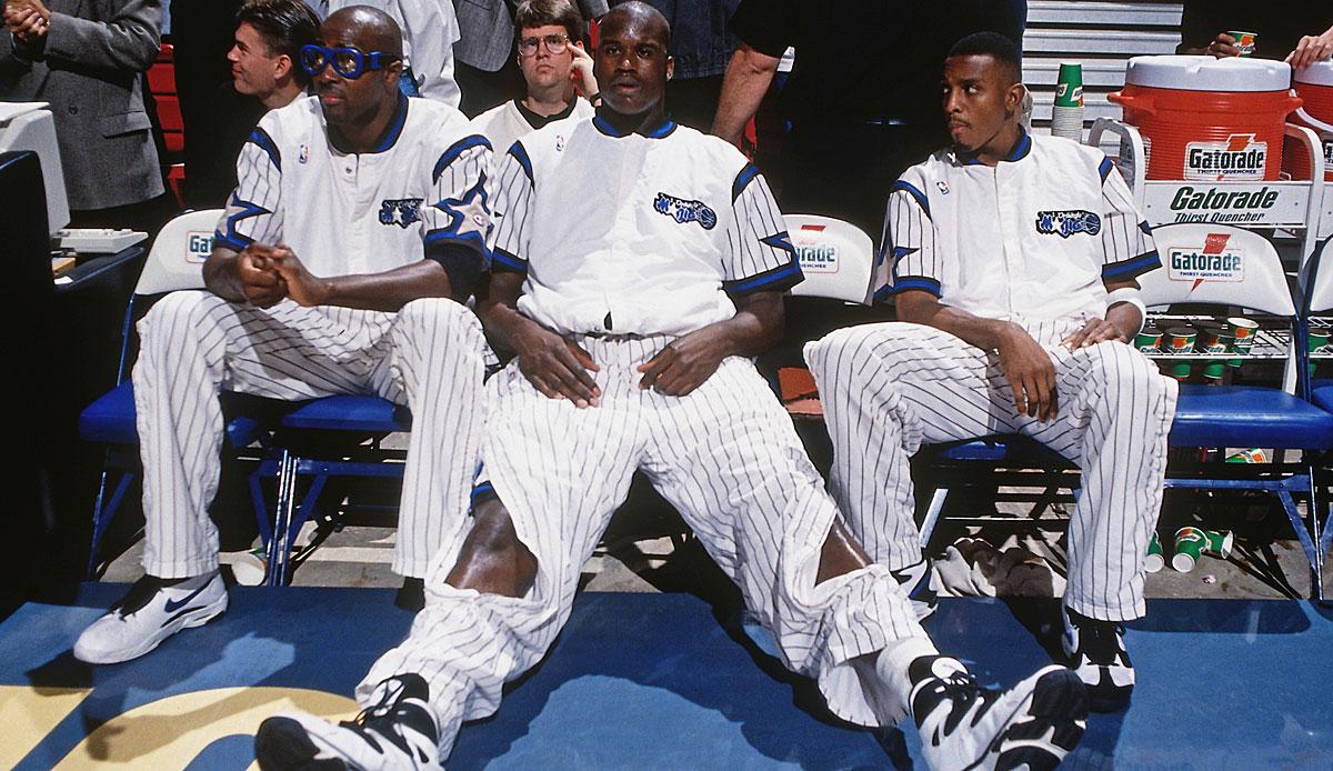 NBA - Das einzige Team, das nach '90 Michael Jordan schlug: Die vergessene Shaq/Penny-Dynastie der Orlando Magic