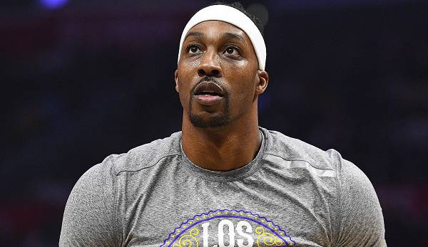 Dwight Howard spielt für die Los Angeles Lakers.