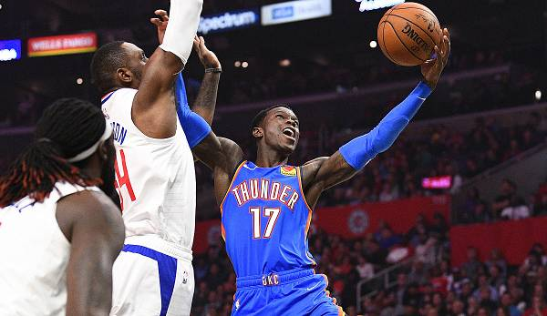 Dennis Schröder von den Oklahoma City Thunder gilt als Kandidat auf den Award als Sixth Man of the Year.