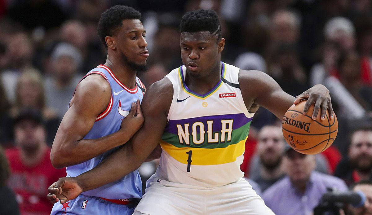 NBA-News: Zion Williamson von den Pelicans hat eine Menge getan, um sein Spiel zu verbessern