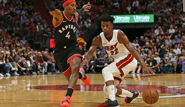 Jimmy Butler ist der Star der Miami Heat.