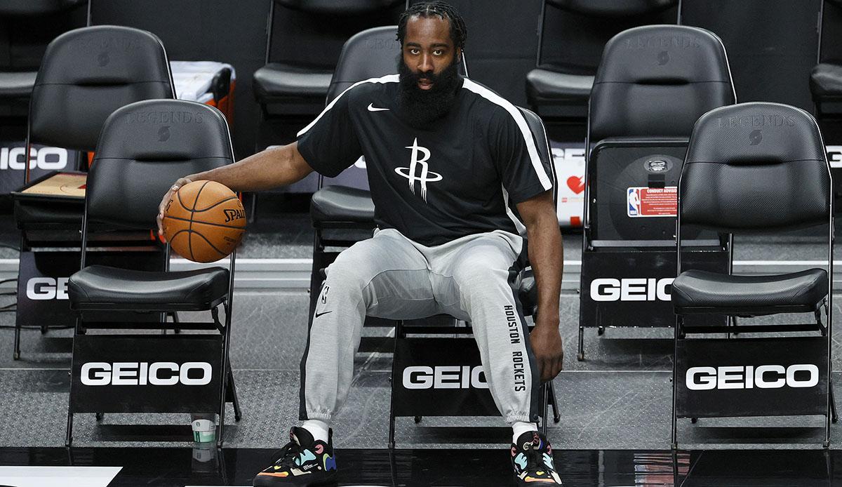 NBA - James Harden spricht erstmals über Trade von den Houston Rockets zu den Brooklyn Nets