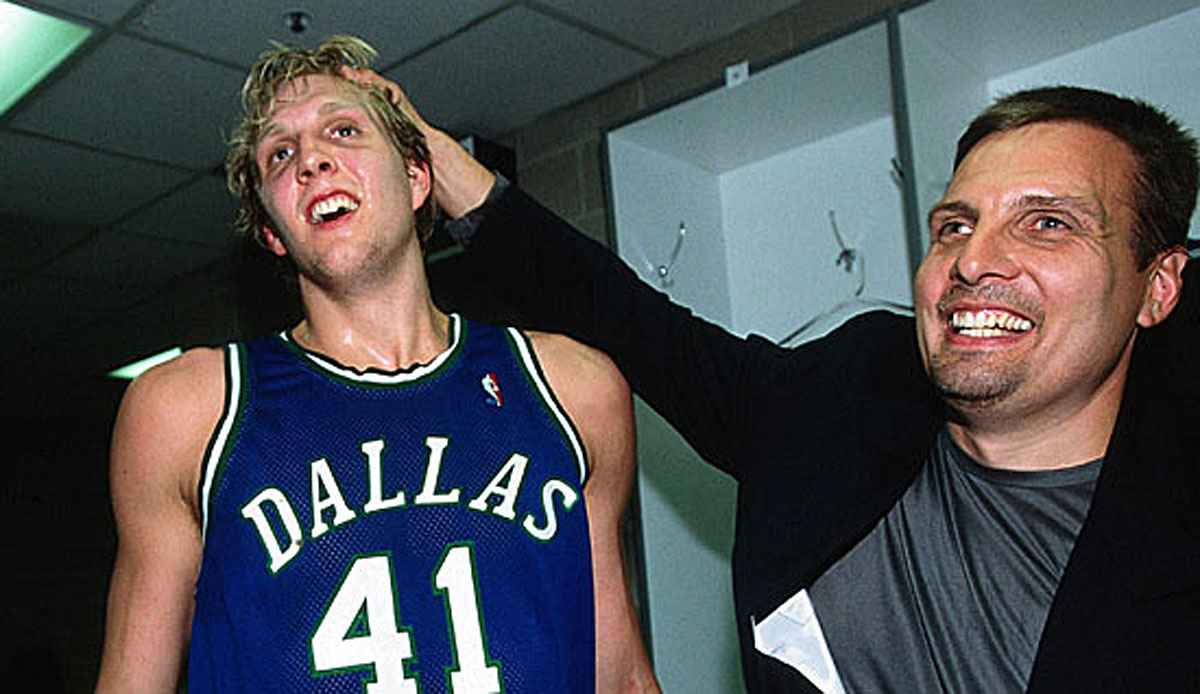 NBA - Mavericks-General-Manager Donnie Nelson im Interview: Ich habe gehofft, dass Luka keinen Wurf trifft