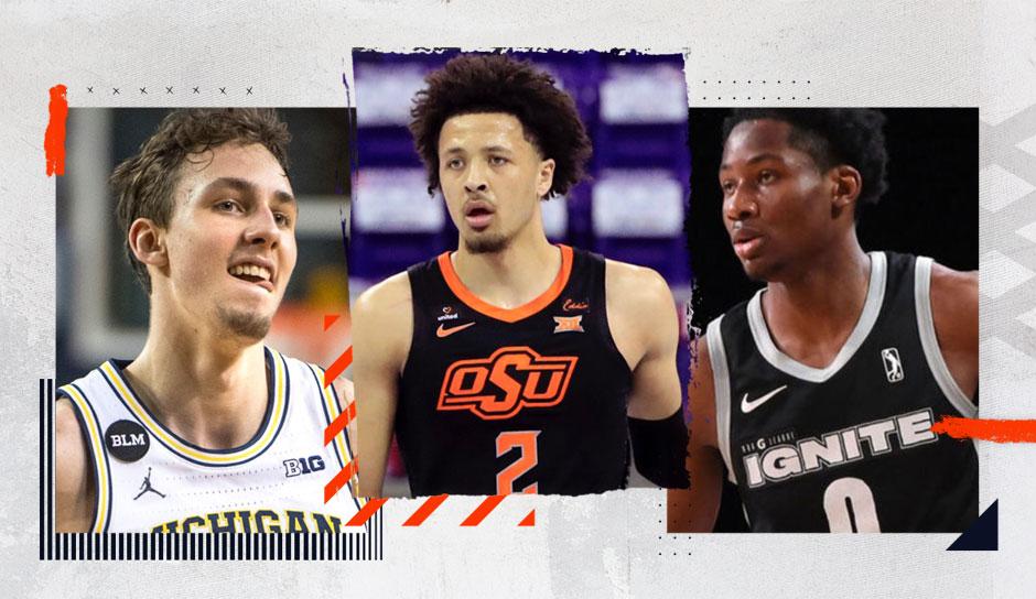 Nach einem Jahr ohne klare Nummer eins gibt es im NBA Draft 2021 einen eindeutigen Favoriten. Doch auch dahinter schlummern noch einige potenzielle Franchise-Stars der Zukunft. Wir machen den ersten Mock Draft und blicken auf die 3 deutschen Kandidaten.