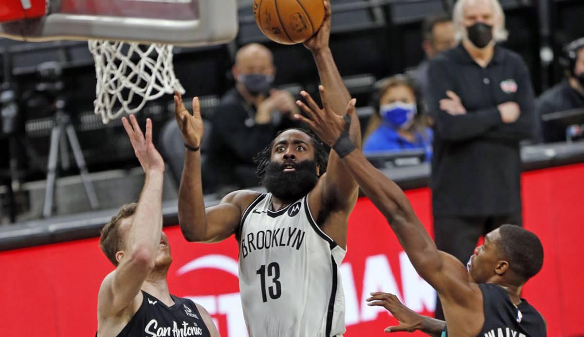 NBA: James Harden schreibt beim OT-Sieg der Brooklyn Nets gegen die Spurs Geschichte - Zion dominiert die Jazz