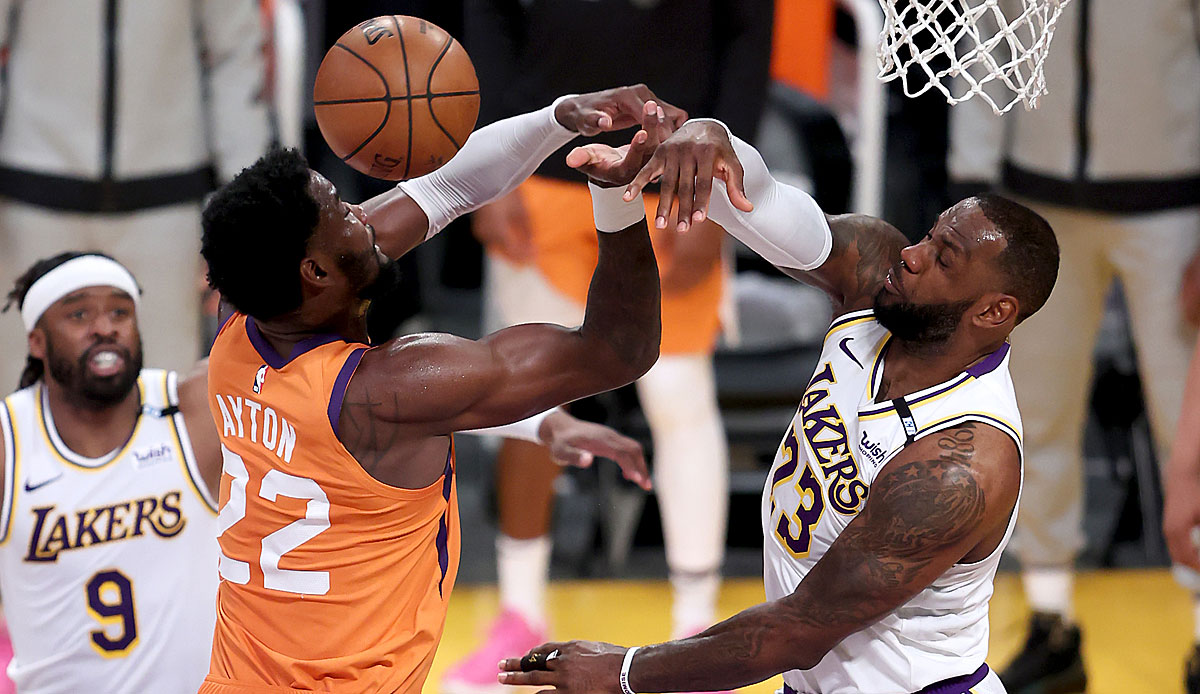 NBA Playoffs: Phoenix Suns equal series against Los Angeles Lakers