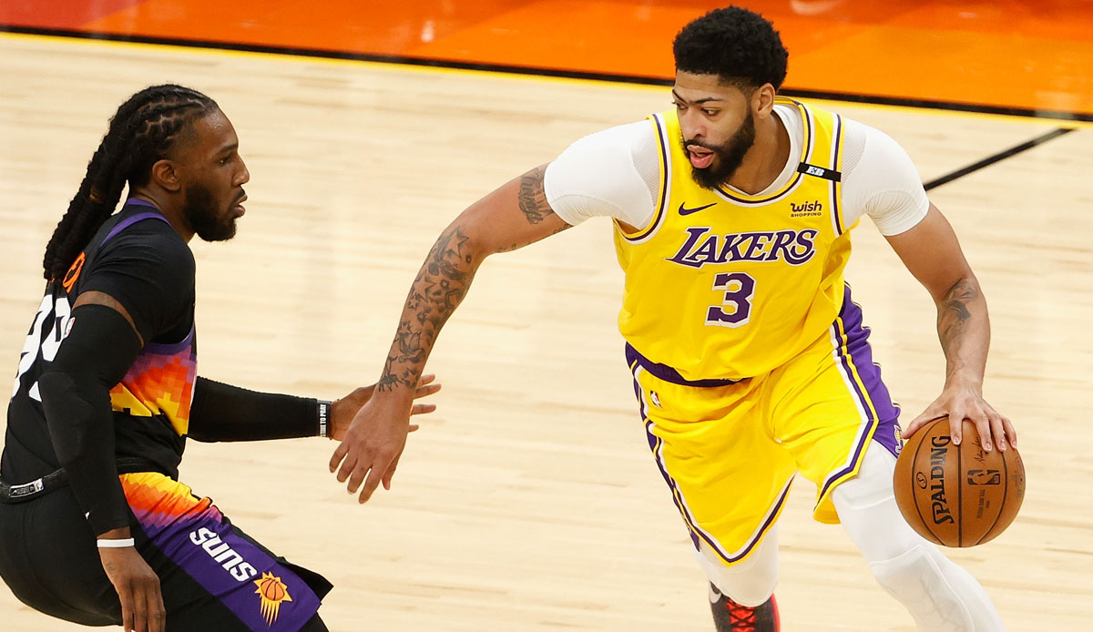 Los Angeles Lakers strike back!  Davis Gala and LeBron Dagger too much for die-hard Phoenix Suns